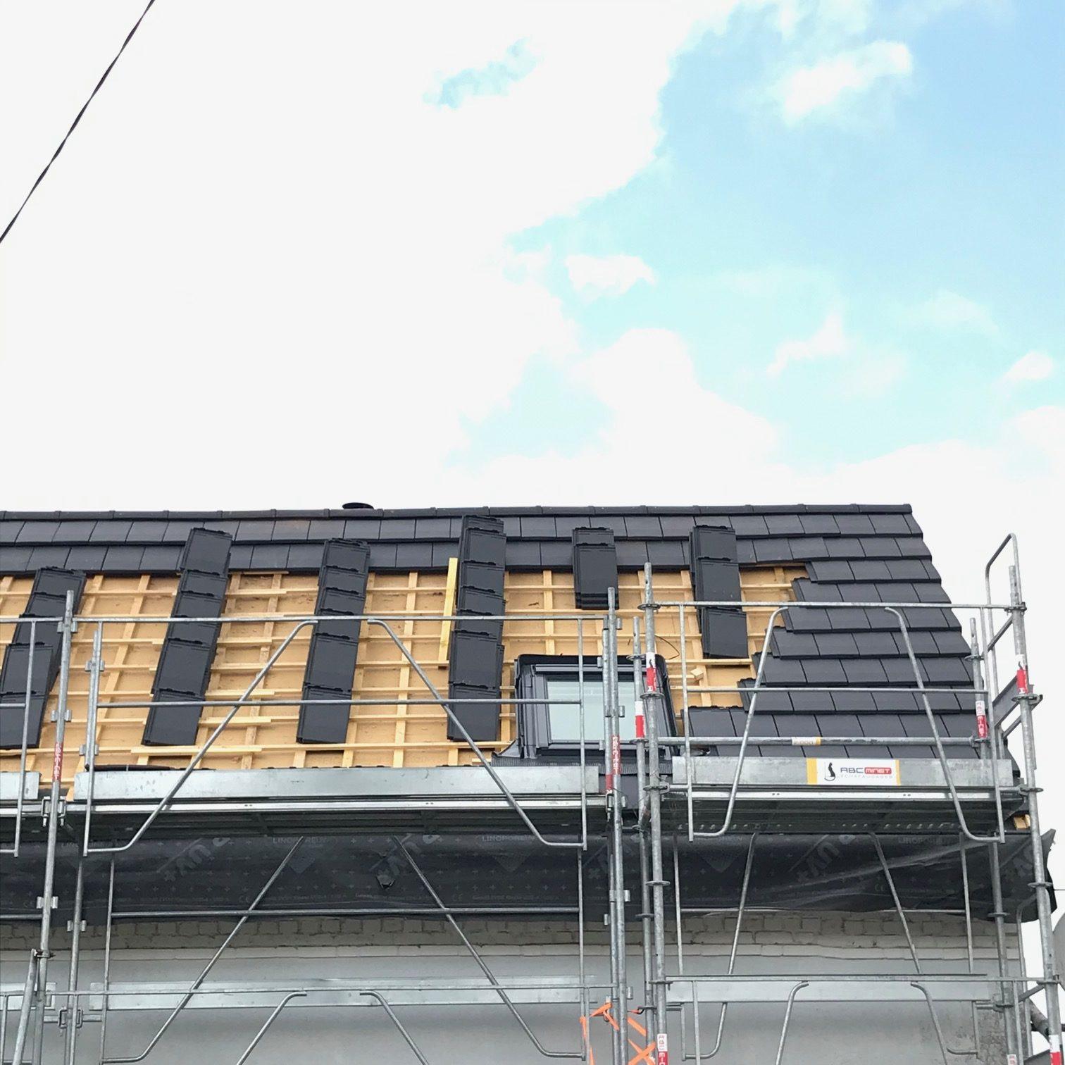 Réalisation d'une toiture dans le Nord Pas-de-Calais